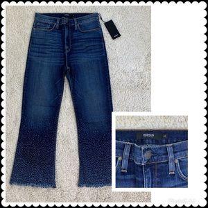 HUDSON Crop Flare Jeans Sz 29 NEW